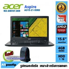 Notebook Acer Aspire A315-21-95R0/T009  (Black)
