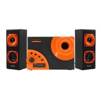 NUBWO ลำโพง 2.1 Stereo 3.5 บลูทูธในตัว รุ่น NS-042 ( สีส้ม )