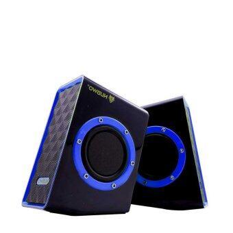 NUBWO Acoustica Extra Bass ลำโพง USB รุ่น NS-001 - สีน้ำเงิน