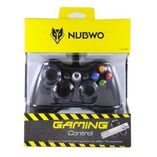 aaa NUBWO จอยเกมส์ Joy Xbox 360 รุ่น nj-29 (สีดำ) Sbobet