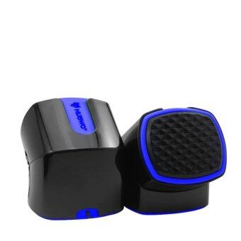 NUBWO DIZZE ลำโพง USB รุ่น NS-002 ( สีน้ำเงิน )