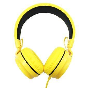 ราคา OKER หูฟังแบบครอบหู รุ่น SM-952 (Yellow)