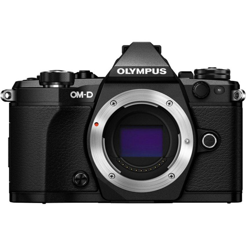 Olympus OM-D E-M5 Mark II Mirrorless Digital Camera Body Black - intl