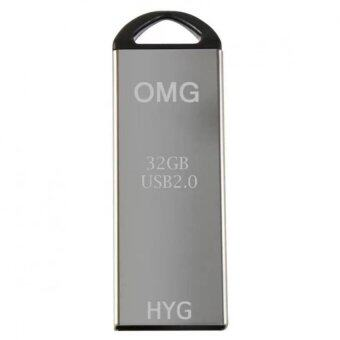 OMG Flash Drive 32Gb รุ่นHYH-02 USB 2.0 D220 High Speed – Silver