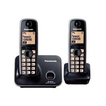 Panasonic โทรศัพท์ไร้สาย รุ่น KX-TG3712BXB (สีดำ)