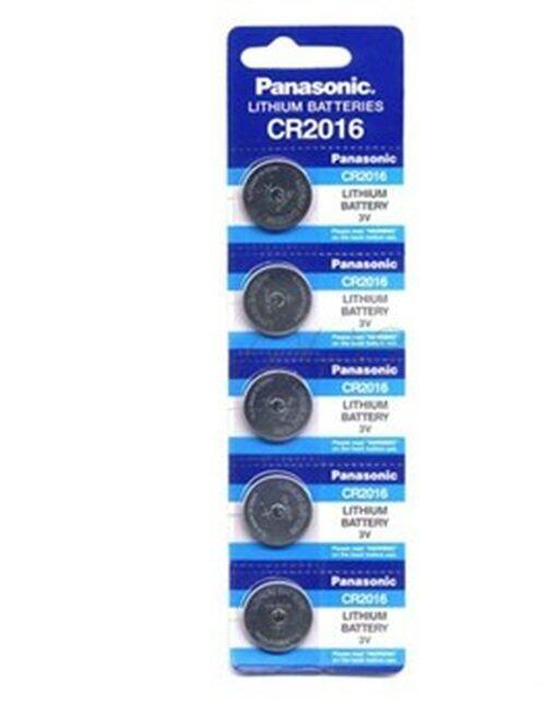 Panasonic ถ่านกระดุม รุ่น CR2016 1 แพ็ค 5 ก้อน