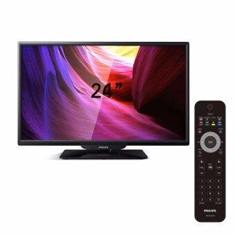 "Philips Slim LED TV 24"" 4100Series 24PHA4110S/98 ประกันศูนย์"