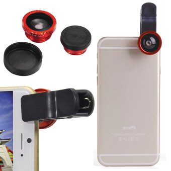Phone Camera Kit for Galaxy S5 S4 i9600 DC541-SZ (Black) - Intl