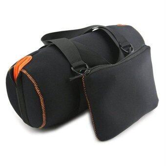 Portable EVA Case Pouch Holder Bag for JBL Xtreme Wireless Bluetooth Speaker (Black)