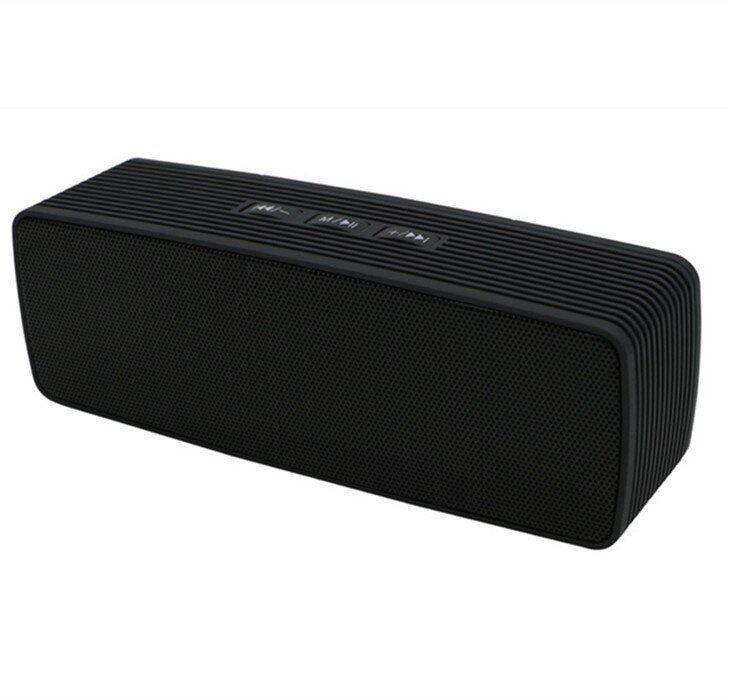 Portable Sports Wireless Stereo Bluetooth Speaker Outdoor Boombox For iPhone LG Smartphone Black