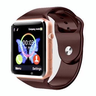 ประเทศไทย Powerbank cc นาฬิกาโทรศัพท์ Bluetooth Smart Watch รุ่น A8 Phone watch(Gold)