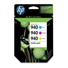 (Price Hidden)HP 940 Ink Cartridges, Cyan, Magenta & Yellow , 3 pack - intl