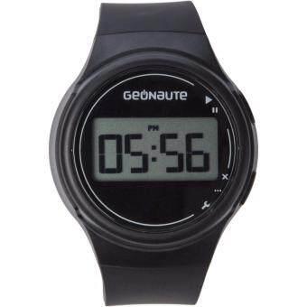 ประเทศไทย นาฬิกาพร้อมตัวจับเวลาสำหรับผู้ชาย (สีดำ)