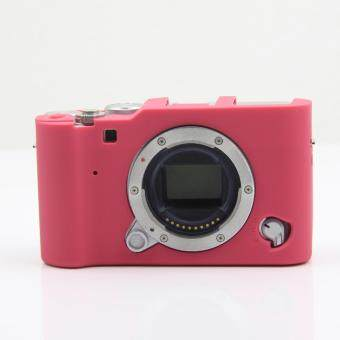 Protective Silicone Gel Rubber Camera Case Cover Bag Compatible For FUJIFILM XA3 X-A3 Camera(Red) - intl