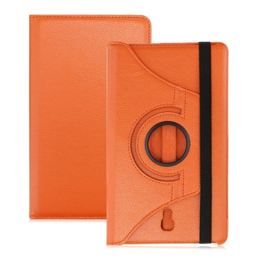 PU Leather 360 Degree Rotating Back Case Holder Protective Cover for Samsung Galaxy Tab  ...