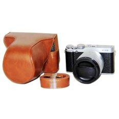 Pu Leather Camera Case Bag Cover For Fujifilm X-M1 X-A1x-A2brown(camera Not Included) - Intl ราคา 486 บาท(-30%)