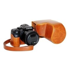 Pu Leather Camera Case Bag Cover With Hollow Designforleicav-Luxbrown(camera Not Included) - Intl ราคา 848 บาท(-29%)
