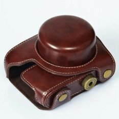 Pu Leather Camera Video Bag Case Cover + Shoulder Strapforpanasonic Gf7 Gf8 Color:coffee - Intl ราคา 494 บาท(-30%)
