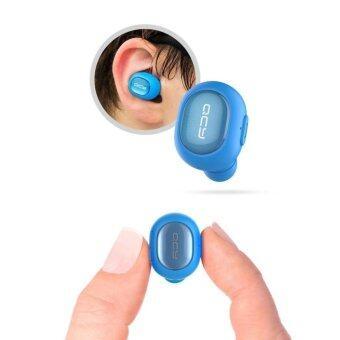Q29 หูฟังไร้สายขนาดเล็กแบบไร้สาย V4.1 หูฟังไร้สาย Bluetooth พร้อมหูฟัง (สีฟ้า) - intl