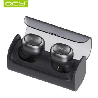 QCY Q29 Mini Bluetooth Headsets Headphones Wireless Stereo Earphones Bluetooth Earbuds with Charge Box for iphone xiaomi - intl
