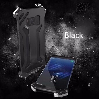R-JUST Gundam Luxury Shockproof Aluminum Case Cover for SamsungGalaxy S8 - intl