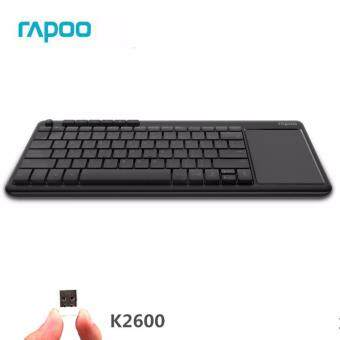 Rapoo K2600 Wireless Touchpad Keyboard tv internet Android BOX PC