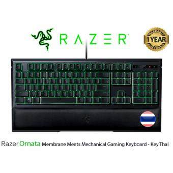 Razer Ornata Membrane Meets Mechanical Gaming Keyboard - Key Thai