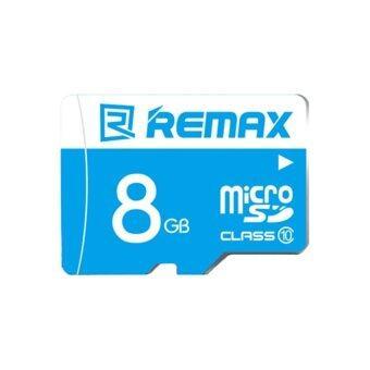Remax เมมโมรี่การ์ด Micro SDHC Card 8 GB Class 6 รุ่น Speed Flash (สีฟ้า)