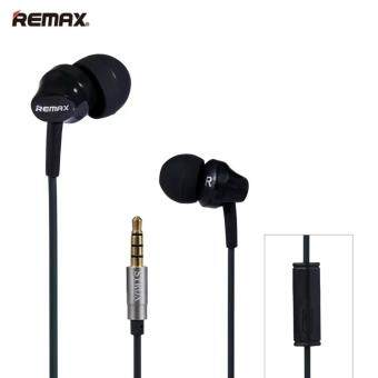 REMAX-RM501 Super Bass Stereo Headsets 3.5mm Plug Earphones (Black)