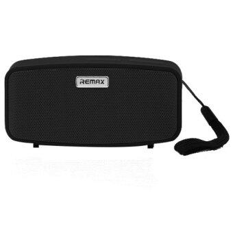2561 Remax ลำโพง บลูทูธ แบบพกพา Spreaker Bluetooth Sushi - Black