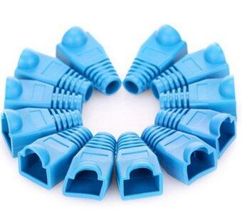 RJ45 Strain Relief Boots (Blue,Bag of 50)