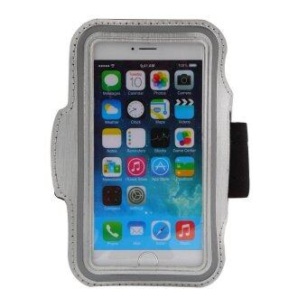 Running Jogging Sport Gym Armband Reflective Case Cover for iPhone iPhone 6 Grey