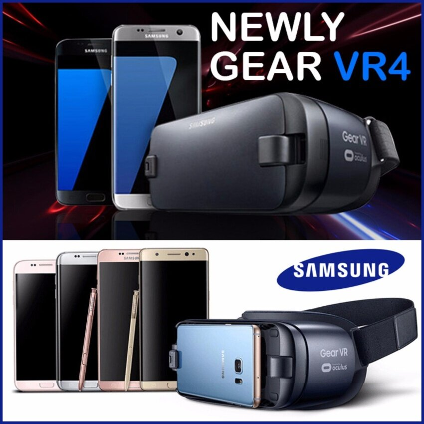 Samsung and Oculus New Gear VR4 - intl ...