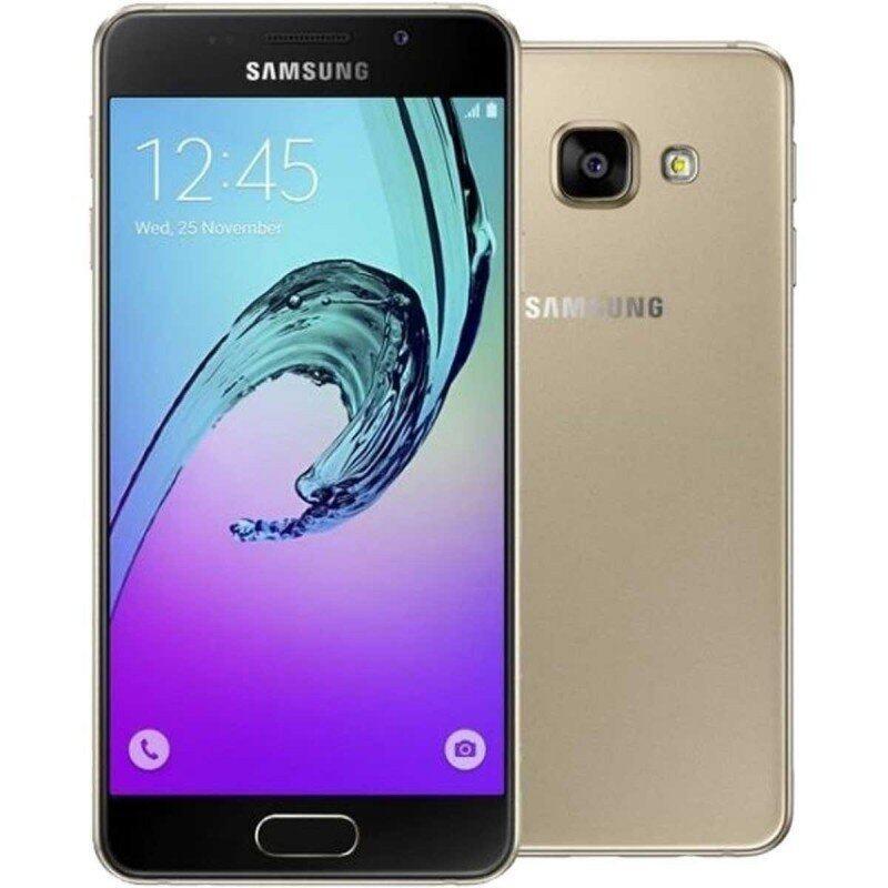 Samsung Galaxy A3 2016 LTE 16GB Single Sim - Gold - Int'l