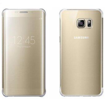 นิวเคลียร์ยูวีส่องกระจกดูเคสสำหรับ Samsung Galaxy S6 Edge Plus (ทอง)