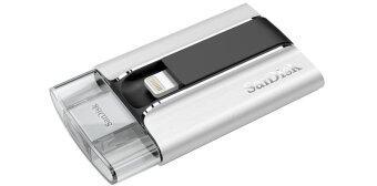 Sandisk 64GB SanDisk iXpand Flash Drive สำหรับ iPhones, iPads และคอมพิวเตอร์