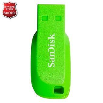 Sandisk Cruzer Blade 8GB - Electric Green (CZ50C-008GB35G)