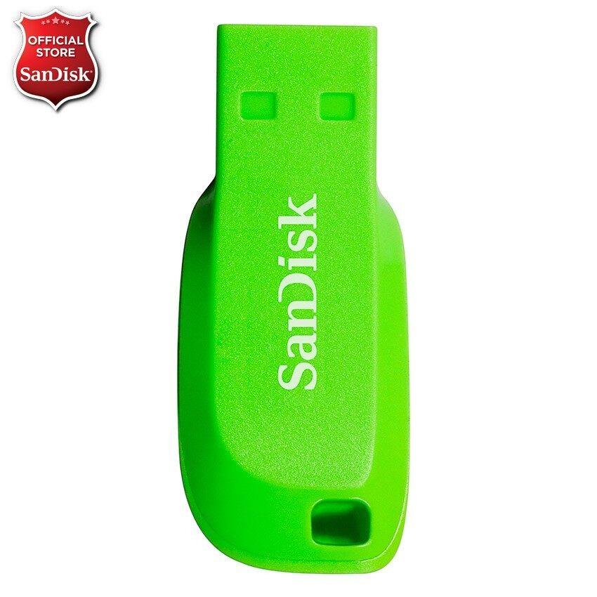 Sandisk Cruzer Blade 8GB - Electric Green (CZ50C-008GB35G) ...