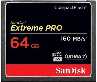 SanDisk Extreme PRO 64GB CompactFlash Memory Card (SDCFXPS-064G-X46)