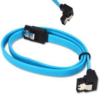 SATA 3.0 Cable 6GB/s SATA III Cable Flat Data Cord for HDD SSD 50CM