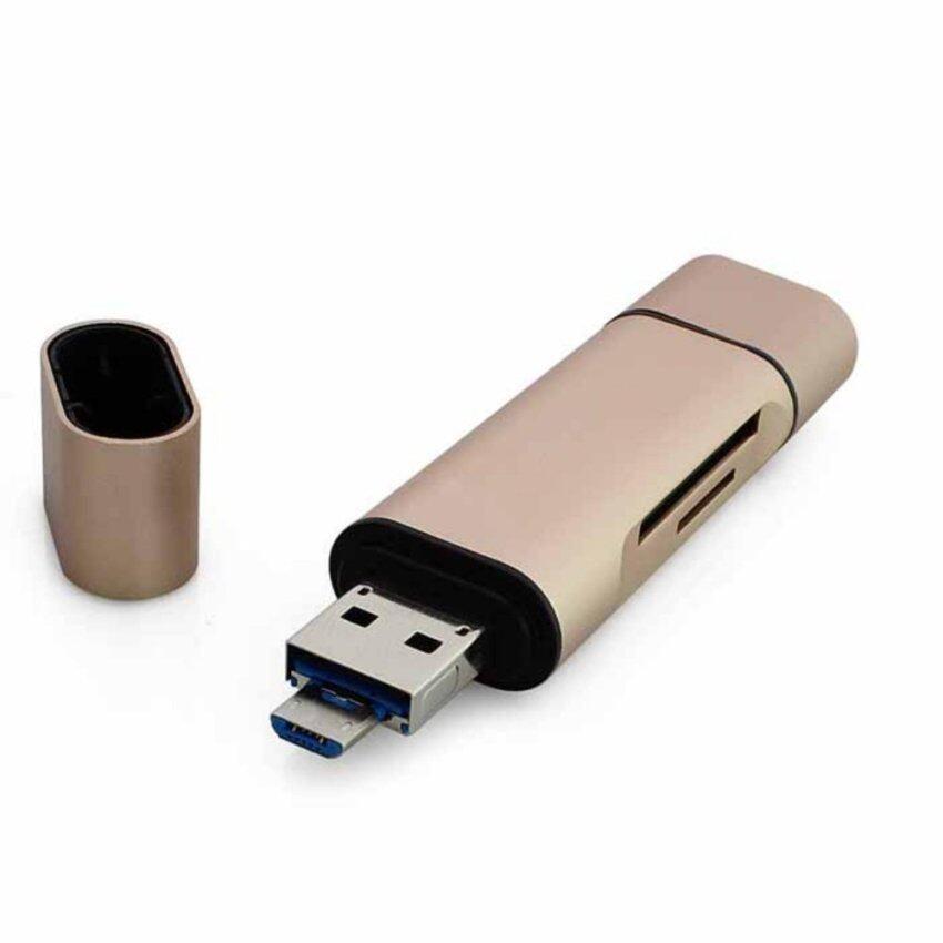 Seenda 3 in1 OTG Type-C Card Reader การ์ดรีดเดอร์ เชื่อมต่อโอทีจี USB 3.0 Cardreader USB ...