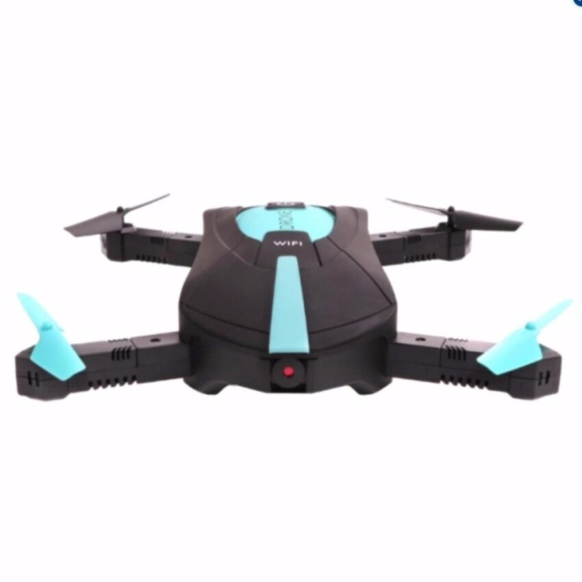 Selfie Drone JY018 โดรนติดกล้องเซลฟี่ Mini Pocket Drone New2017 wifi cam FPV realtime ฟรี iRing คละสี 2ชิ้น