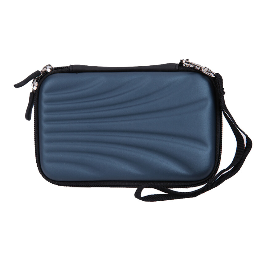 Shell Pattern Hard EVA PU Carrying Case Bag for 2.5 inch Portable HDD - intl