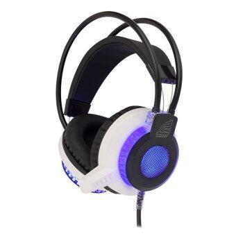 Signo E-Sport หูฟังเกมส์มิ่ง Gryphon LED รุ่น HP-807 (สีขาว)