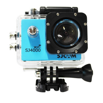 SJ CAM กล้อง แอ็คชั่น ไวไฟ รุ่น SJ-4000 (สีฟ้า)