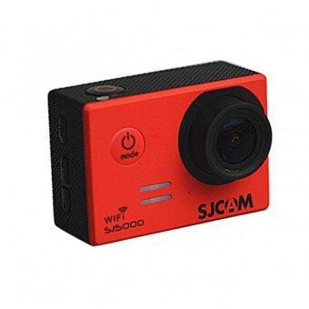 SJ CAM กล้อง แอ็คชั่น ไวไฟ รุ่น SJ-5000 (สีแดง)