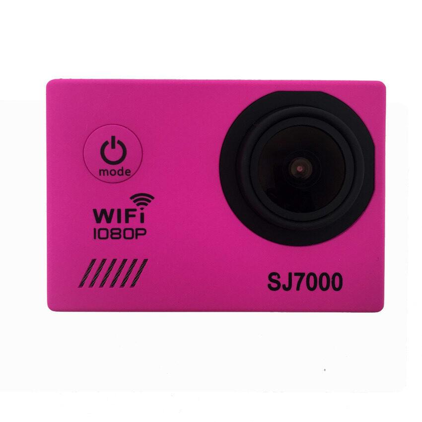 SJ6000 Wifi 2.0�x9D Screen Waterproof Action Camera for Sport (Pink) - intl ...