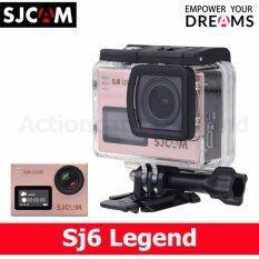 Sjcam Sj6 Legend 4k 16mp (golden Rose) ราคา 4,489 บาท(-31%)