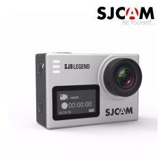 Sjcam Sj6 Legend 4k Action Camera พร้อมแบตเตอรี่ 1 ก้อน - Silver ราคา 4,290 บาท(-32%)