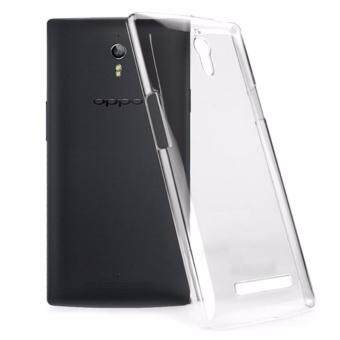 Slim Crystal Clear Transparent TPU Silicone Phone Protective CaseFor Oppo Find 7 - intl